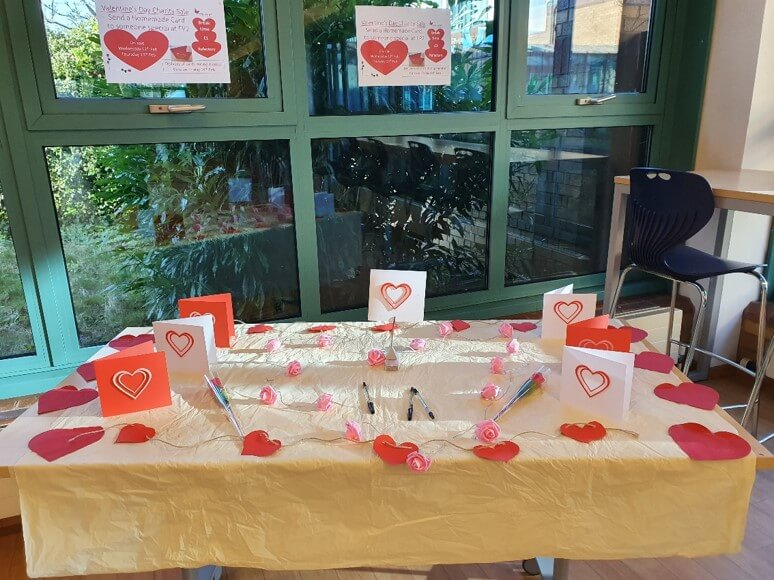 Valentines Day Stall